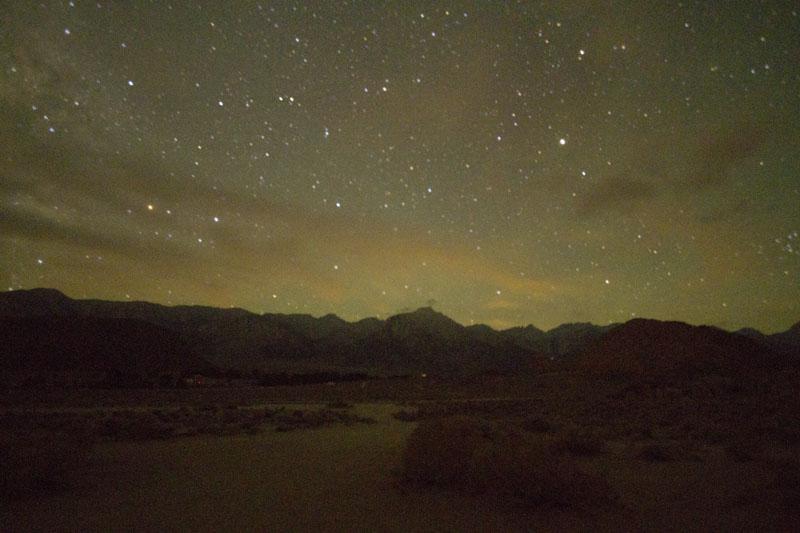 shot of stars