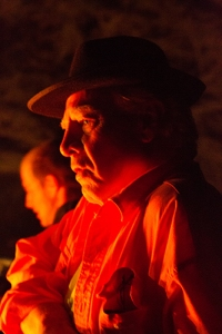 Portrait by campfire. 2014