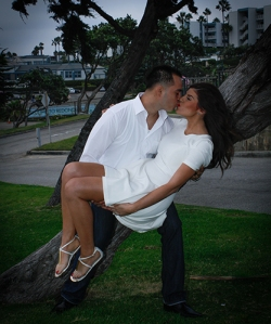 Wedding workshop, engagement photo, fill flash and natural light. 2014