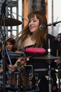 Drummer having too much fun. 2013