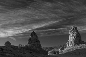 Trona Pinnacles Black & White landscape fine art photography