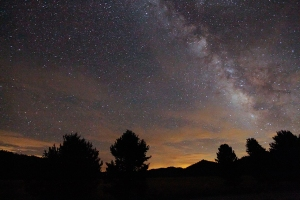 Milky Way in the Sierra Neveda Moutains.