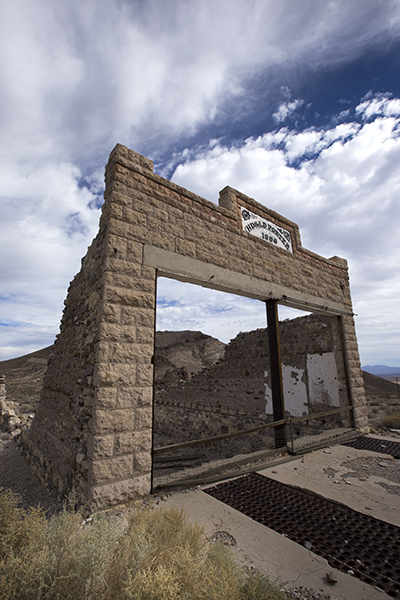 Rhyolite old building