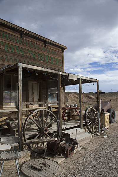 old building in Gold Point Nv. ghost town