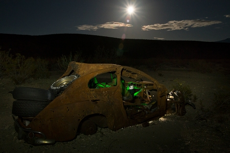 Traveling Moon. Copyright Vanderhoof Photography 2015