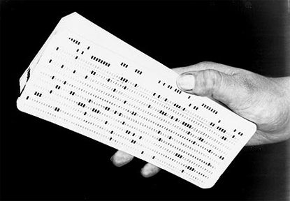 hand & punch card