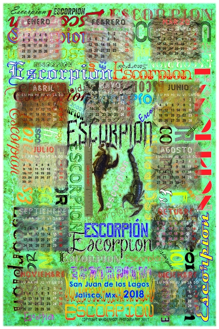2018 Escorpion Calendar_FB