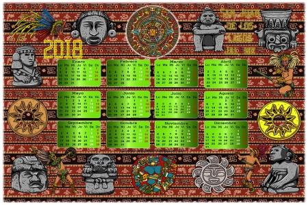 2018 Aztec Calendar_01_FB