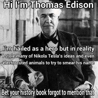 Edisonon Tesla