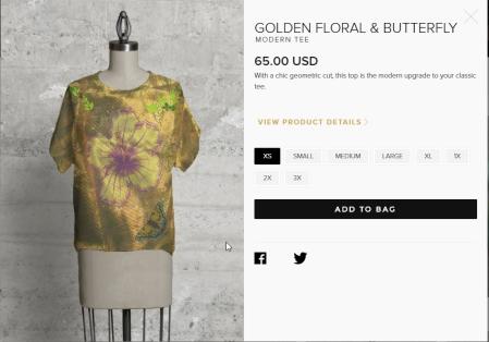 20171223 golden floral