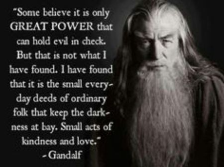 Gandalf on power