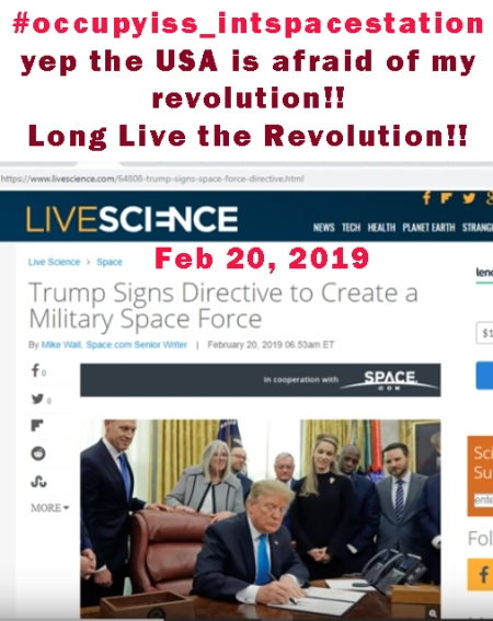 20190221 TRUMPed signed Space Force bill
