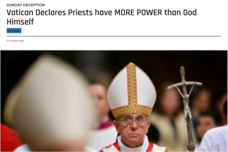 20181124 Pope claims more powerful than His God